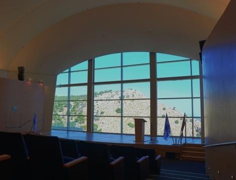 אודיטוריום האולם החדש בנצרת. צילום: Eila Brand Adele